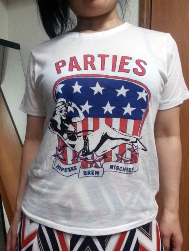 Kazumi's new shirt